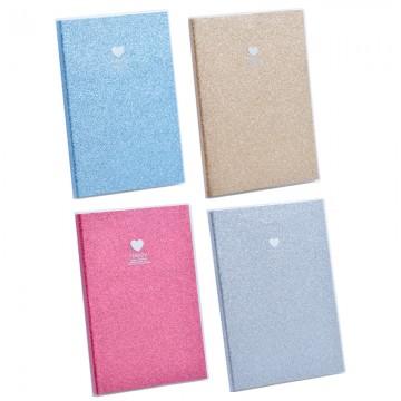 """Note Book """"Glitter"""" A5 100Pgs 25520"""
