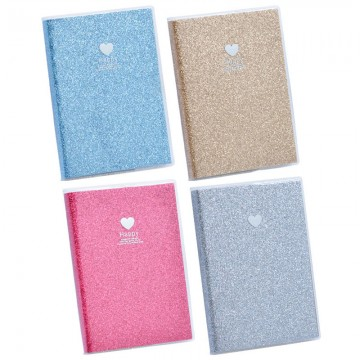"""Note Book """"Glitter"""" A6 100Pgs 50520"""