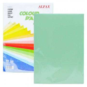 ALFAX C611 Colour Paper 80g A4 100's Green