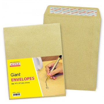 "ALFAX Giant P&S Envelope 10x15"" 24's"