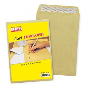 """ALFAX Giant P&S Envelope 9x12.75"""" 24's"""