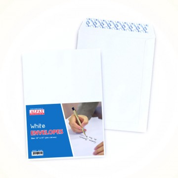 "ALFAX White P&S Envelope 10x15"" 24's"