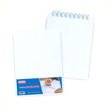 "ALFAX White P&S Envelope 4x9"" 24's"