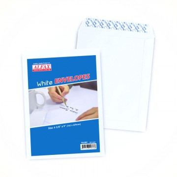 "ALFAX White P&S Envelope 6 3/8x9"" 24's"