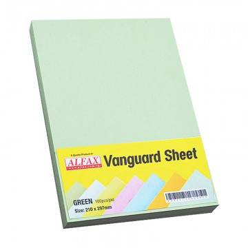Vanguard Sheet A4 100's Green