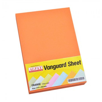 Vanguard Sheet A4 100's Orange