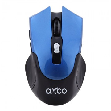 AXCO 3239 2.4G USB Wireless Mouse Blue