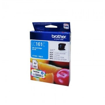 BROTHER Ink Cart LC161 Cyan -(300pages)