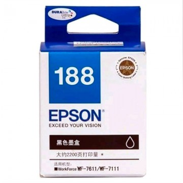 EPSON  C13T188190 Ink Cartridge Black