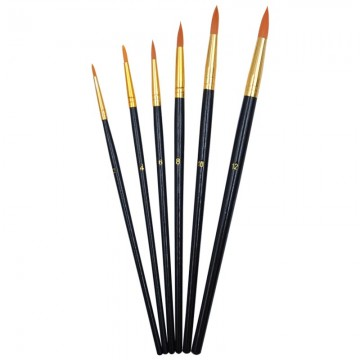 ALFAX 2516 Triangular Artist Brush Set No.2,4,6,8,10,12