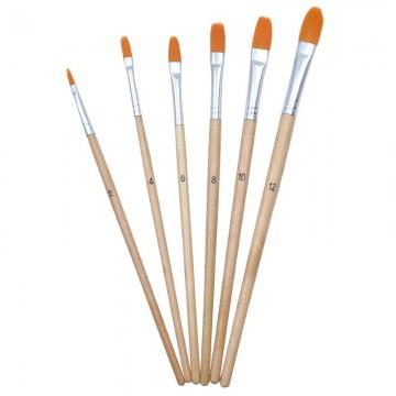 ALFAX 5776G Mop Artist Brush No. 2,4,6,8,10,12
