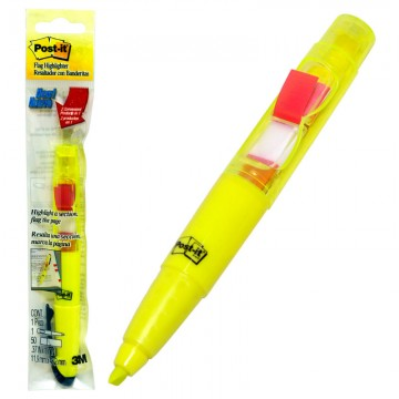 3M Post-It Flag Highlighter Yellow