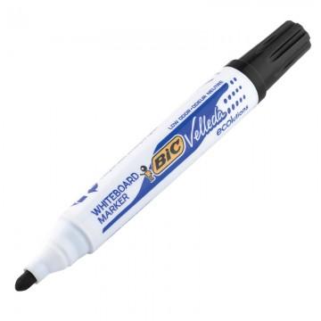 BIC W/B Marker Bullet Black