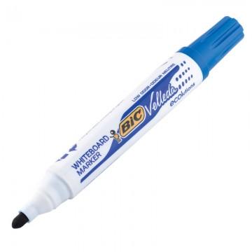 BIC W/B Marker Bullet Blue