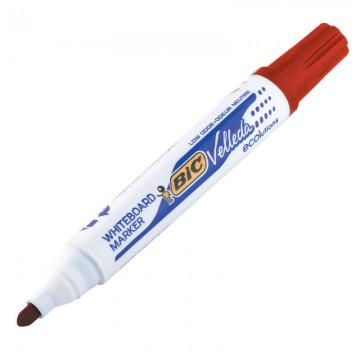 BIC W/B Marker Bullet Red