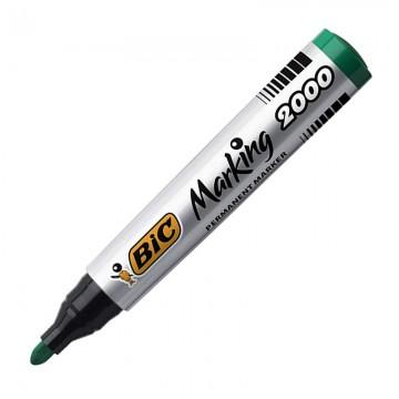 BIC 2000 Permanent Marker Bullet Tip Green
