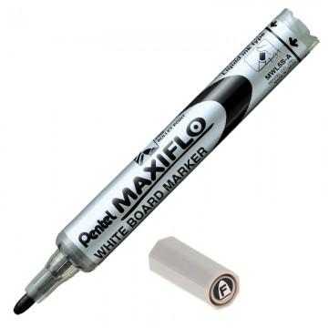 PENTEL MWL5S WhiteBoard Maxiflo Marker Black