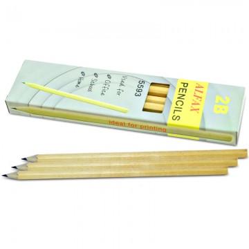 ALFAX 5593 Wooden Pencil 2B