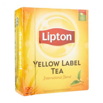 LIPTON Yellow Tea Bag 100's