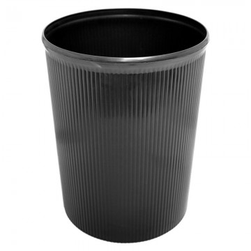 ALFAX Plastic Dustbin 8812 Black 260x329mm