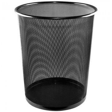 ALFAX Round Mesh Dustbin LD01158 Black D290xH350mm