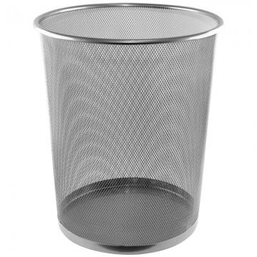 ALFAX Round Mesh Dustbin LD01159 Silver D290xH350mm