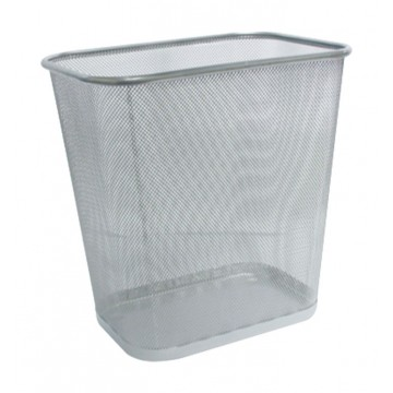 ALFAX Rectangle Mesh Dustbin PB516 Silver