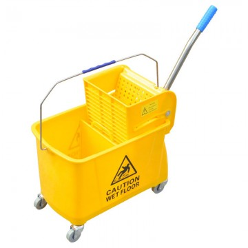Slip Press Single Mop Bucket 24L 027VL