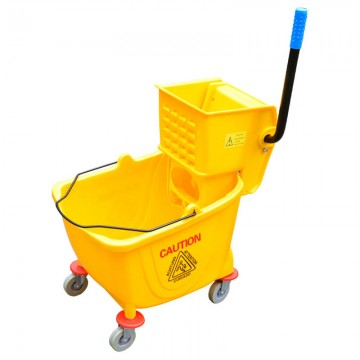 Slip Press Single Mop Bucket 36L 028VL