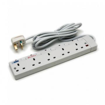 FYM S955V 5Way 3meter Extension Socket