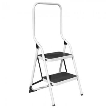 ALFAX 2 Step Metal Ladder High Handle AL0402A