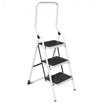 ALFAX 3 Step Metal Ladder High Handle AL0403A
