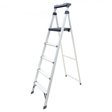 ALFAX 5 Step Aluminium Ladder LLP5
