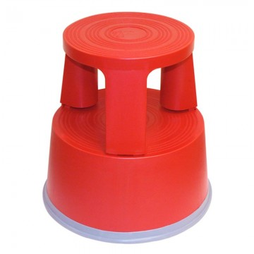 ALFAX T7 Plastic Step Stool H430xD290mm Red