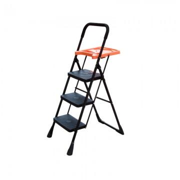 ALFAX 3 Step Plastic Step Ladderwith Tray XA4
