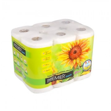 "PREMIER Kitchen Towel Roll  9""  6rolls"