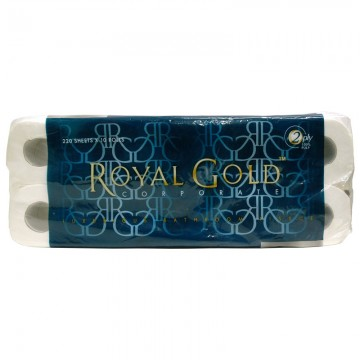 ROYAL GOLD Toilet Roll 2PLY (1x10)