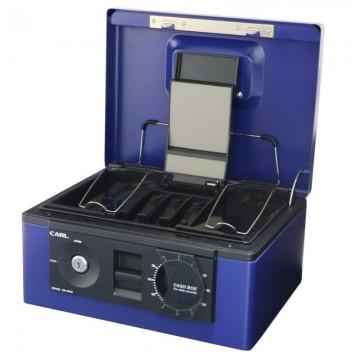 CARL CB8560 Cash Box Triple Lock A5 305x240x133mm