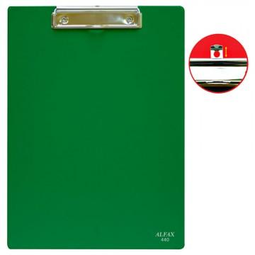 ALFAX 440 PVC Clipboard A4 Dark Green