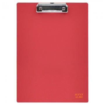 ALFAX AL802 PP Wire Clip Board A4 Red