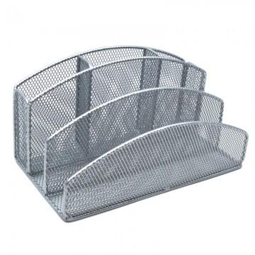 ALFAX AL63315 Desk Organizer Silver