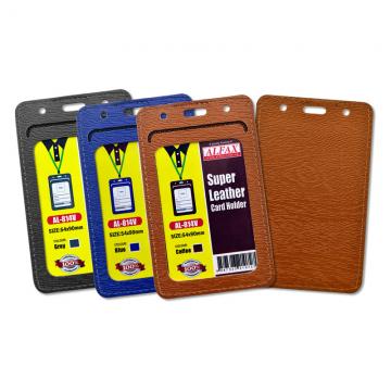 ALFAX AL814V Leather Card Holder 54x90mm 5's
