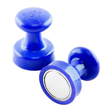 ALFAX MB3225 Super Strong Magnetic Button 25mm 8's Blue
