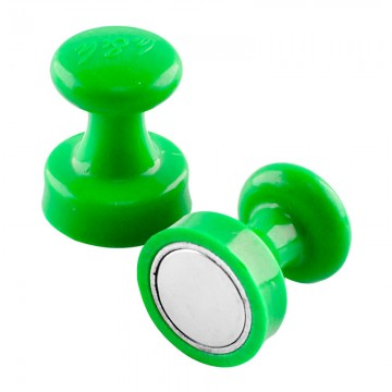 ALFAX MB3225 Super Strong Magnetic Button 25mm 8's Green