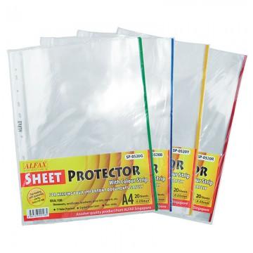 ALFAX SP0520B Sheet Protector 11 Hole Refill 20'