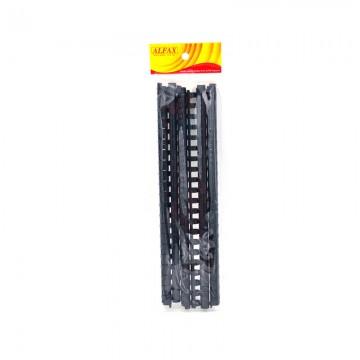 ALFAX 112BK Binding Ring 12mm 21R A4 10's Black
