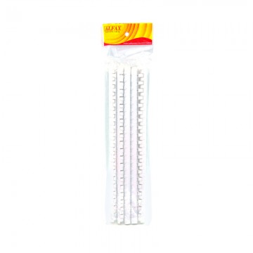 ALFAX 112WH Binding Ring 12mm 21R A4 10's White