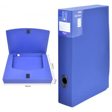 ALFAX F255 Plastic Box File 55mm A4 Blue