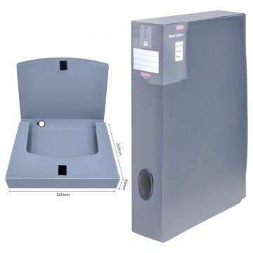 ALFAX F255 Plastic Box File 55mm A4 Grey