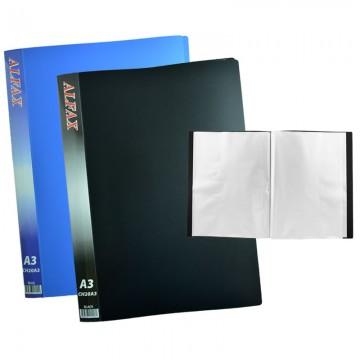 ALFAX CH20A3 Clear Holder 20 Pockets A3